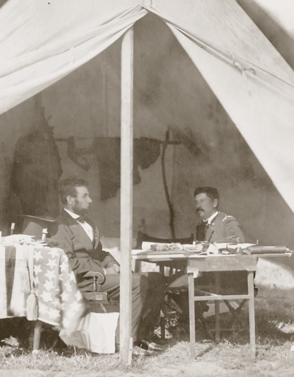 Lincoln Battlefield Tent